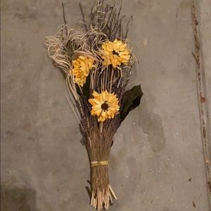Other - Sunflower and lavender vase filler